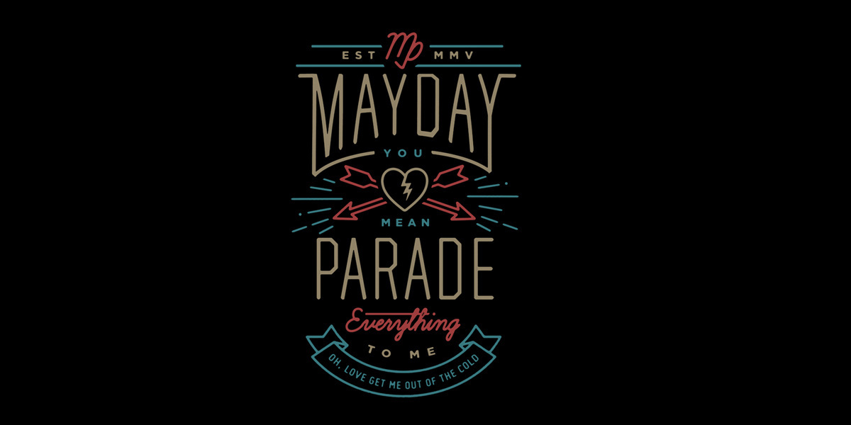 Mayday Parade Logo Mayday Parade Band Logo Umbrella Man Photo